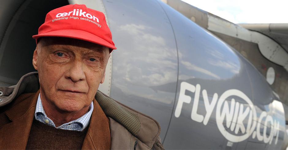 Niki Soll An British Airways Mutter Gehen Lauda Draußen Tiroler