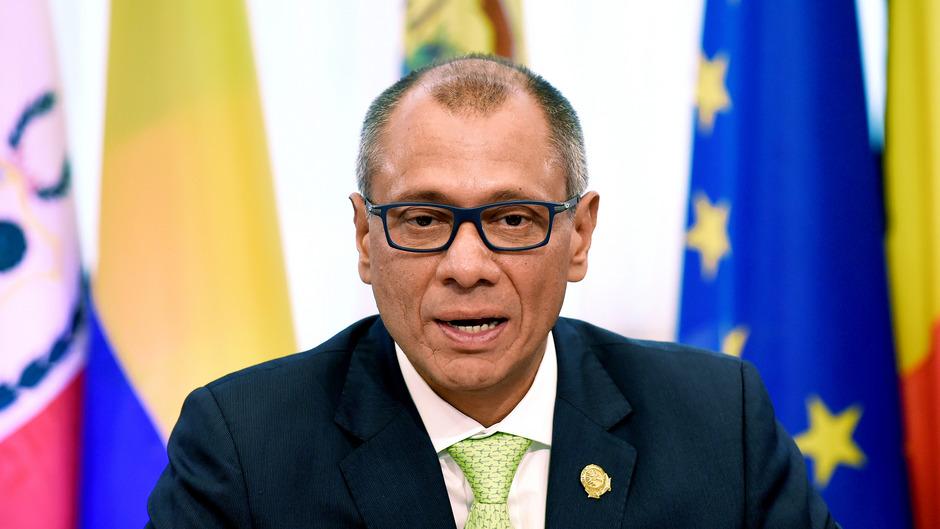 Jorge Glas hat sein Amt nach drei Monaten Abwesenheit vom politischen Geschäft verloren.