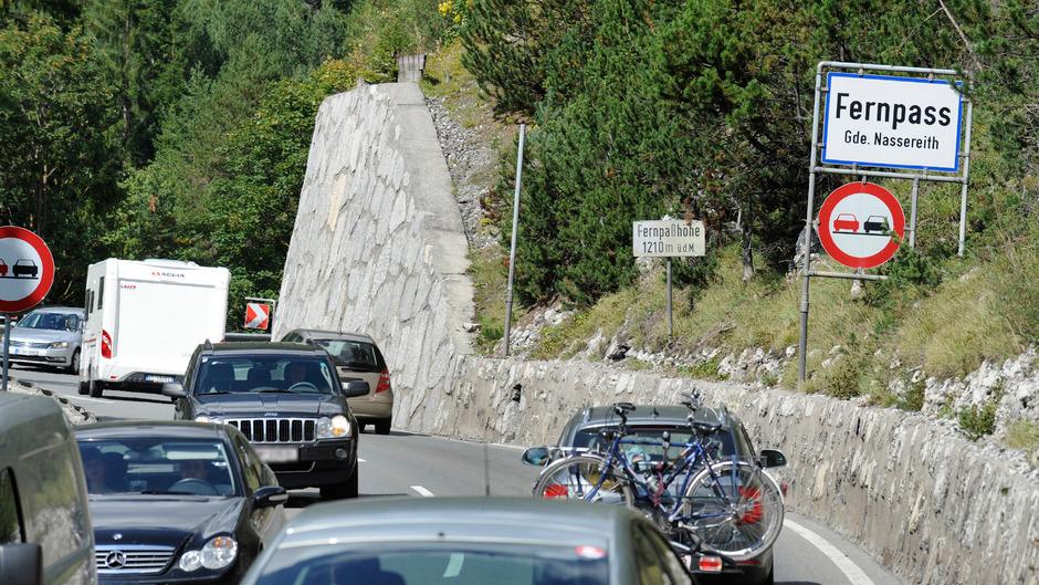 Reiseverkehr am Fernpass. (Archivbild)