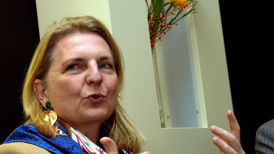 Außenministerin Karin Kneissl (FPÖ).