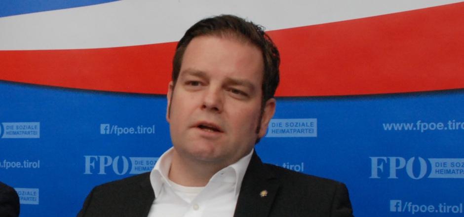 FPÖ-Landesobmann Markus Abwerzger.