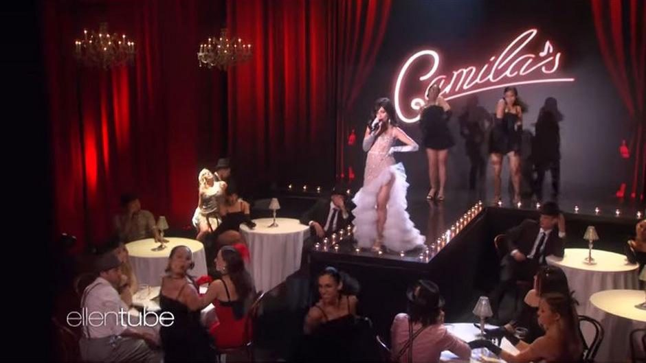 """Camila Cabello trat mit """"Havana"""" in der Show von Ellen DeGeneres auf."""