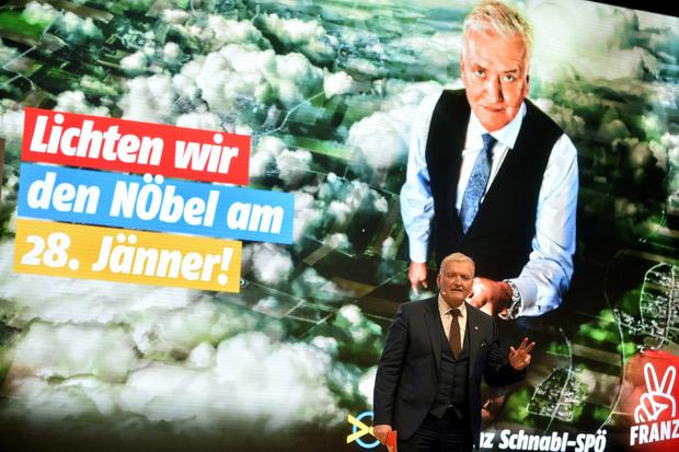 Franz Schnabl tritt für die SPÖ an.