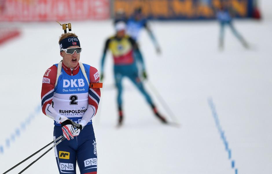 Johannes Thingnes Bö ließ die Konkurrenz hinter sich.