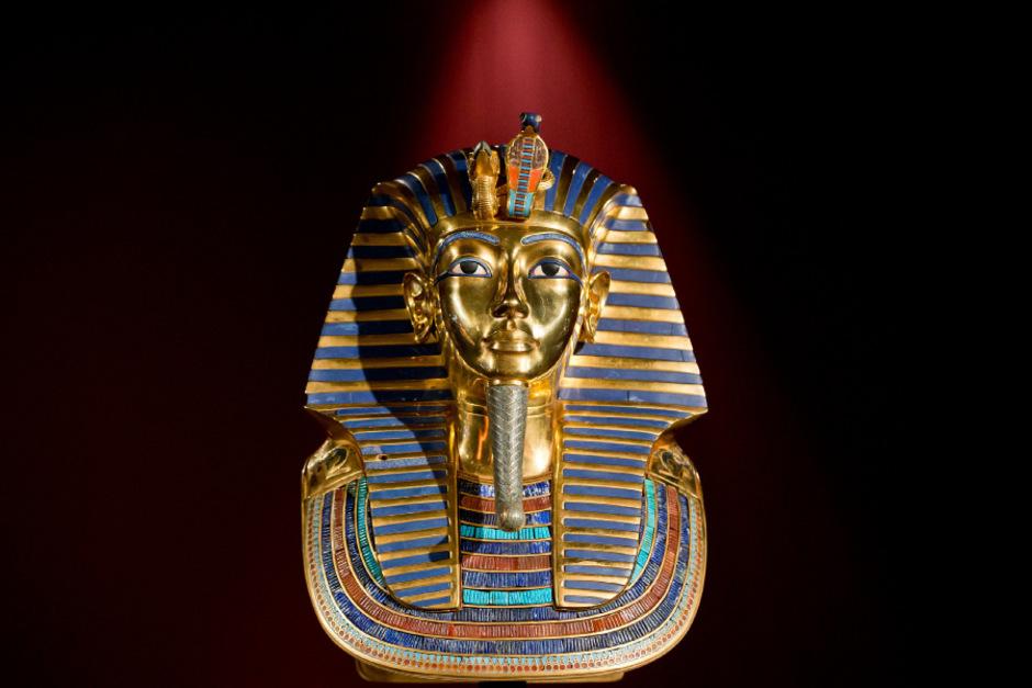 Totenmaske von Tutanchamun.