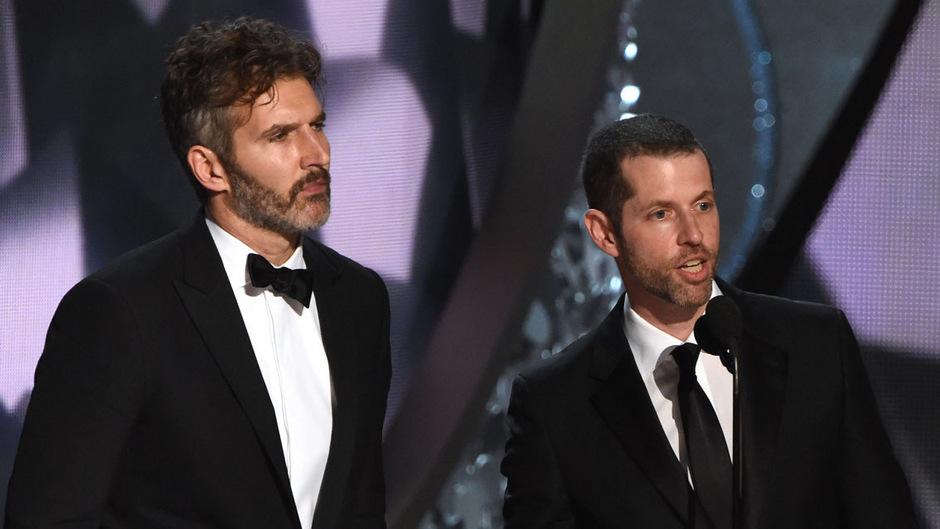 """Für """"Game of Thrones"""" als beste Dramaserie gewannen David Benioff und D.B. Weiss 2016 einen Emmy."""