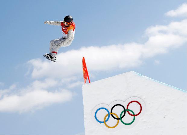 Olympiasiegerin Jamie Anderson.