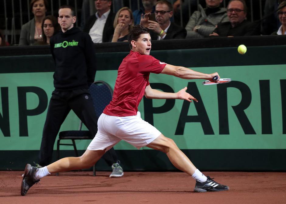 Tennis-Ass Dominic Thiem.