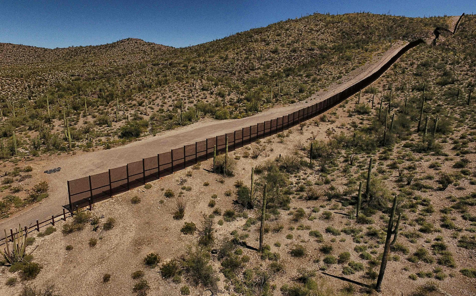 Die Sicht Von Der Grenze Streitthema Zwischen Usa Und Mexiko