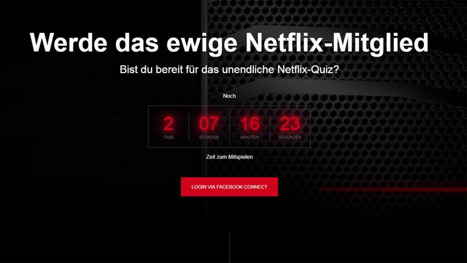 Der Countdown läuft: Bis am Sonntag gibt es noch die Chance, ein lebenslanges Netflix-Abo zu ergattern.