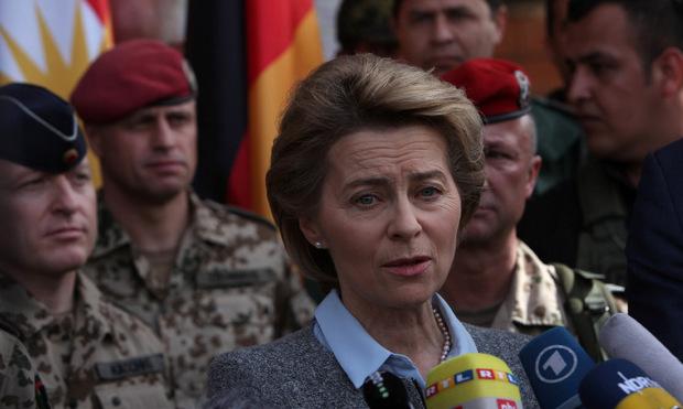 Die deutsche Verteidigungsministerin Ursula von der Leyen.