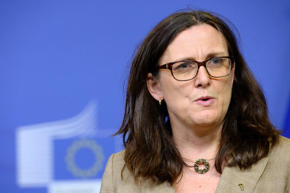 EU-Handelskommissarin Cecilia Malmström.