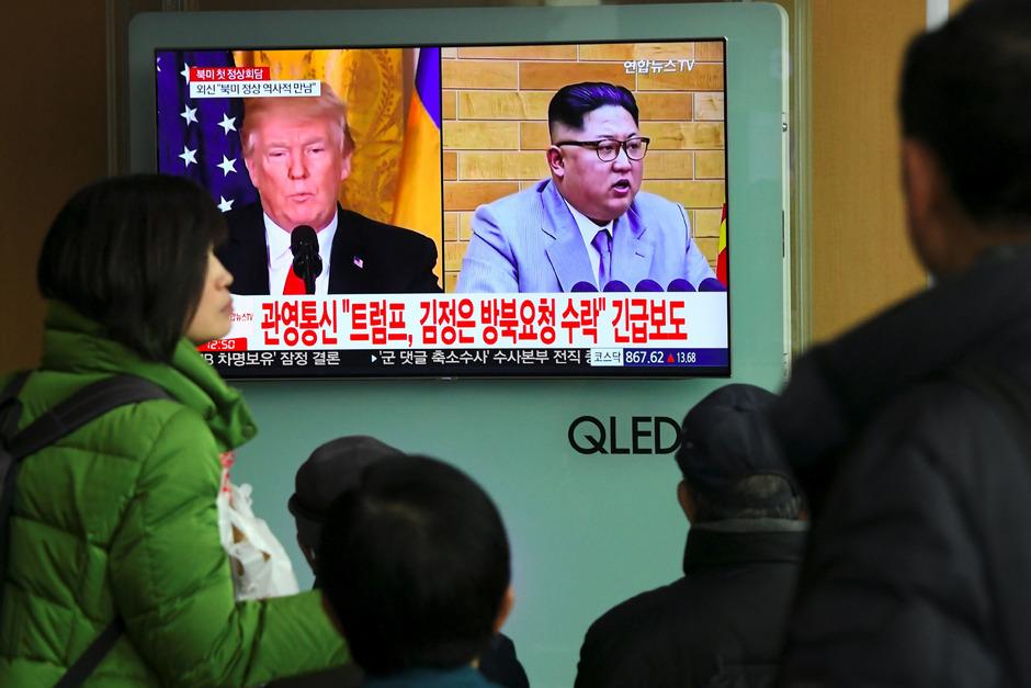 Nordkorea muss sein Rüstungsprogramm aufgeben, bevor die USA einem Treffen endgültig zustimmt.