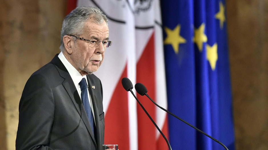 Österreichs Bundespräsident Alexander Van der Bellen betonte die Verantwortung der Österreicher, sich zu erinnern.