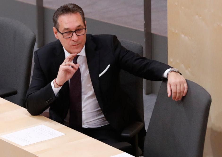 Vizekanzler und FPÖ-Chef Heinz-Christian Strache wurde nicht abgehört.