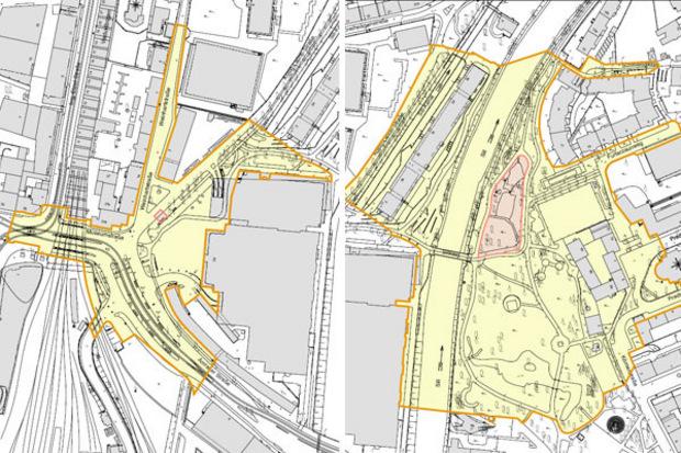 Im Bereich der Bushaltestelle Sillpark/König Laurin Alle  (l.) und im Rapoldipark gelten die sogenannten Schutzzonen.