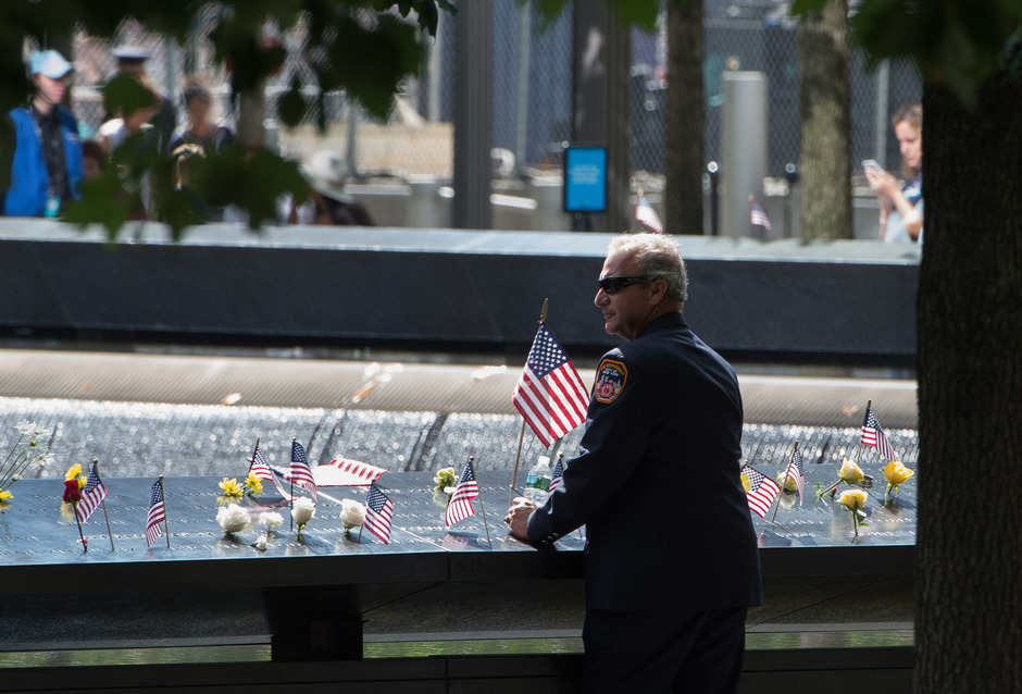 Gedenkstätte für die 9/11-Opfer in New York.