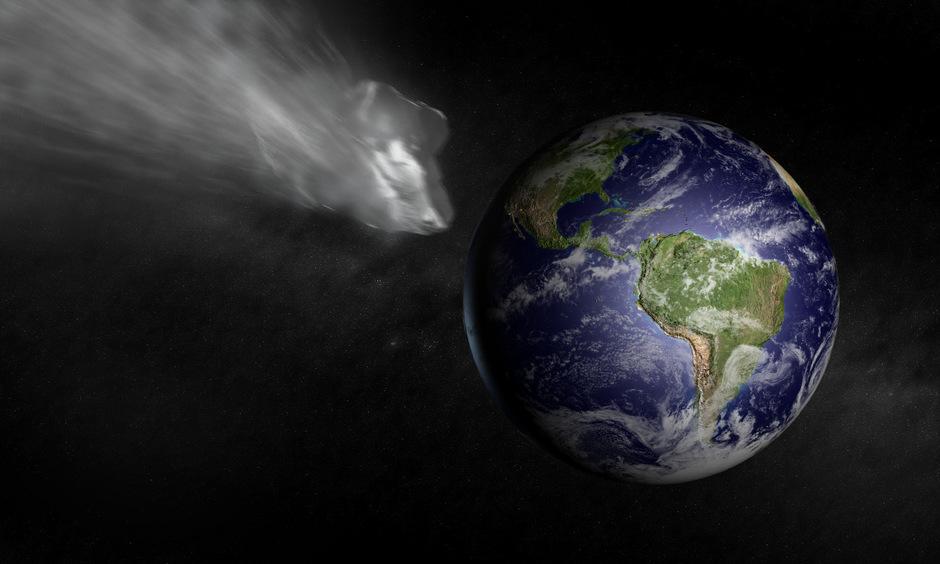 Immer wieder steuern Asteroiden auf die Erde zu. Fast 200 Krater zeugen von vergangenen Einschlägen.