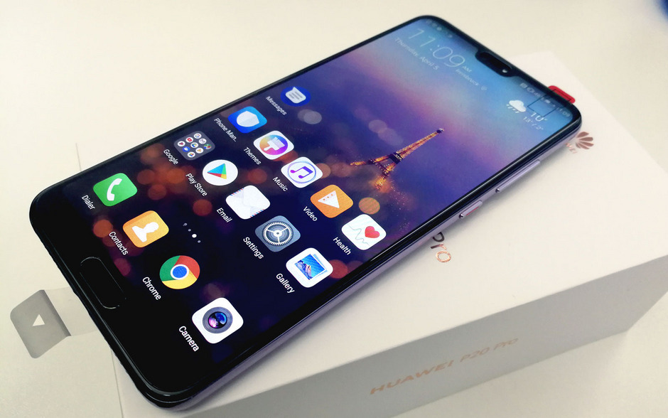 Als Betriebssystem dient dem Huawei P20 Pro Googles aktuellstes Betriebssystem Android 8.1 Oreo mit EMUI im Quasi-Apple-Look.