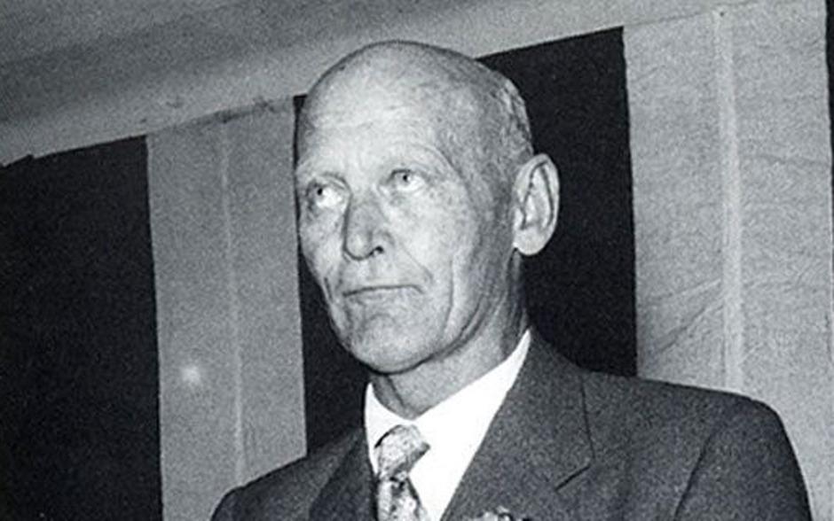 Undatiertes Archivbild des ersten FPÖ-Parteiobmannes Anton Reinthaller.