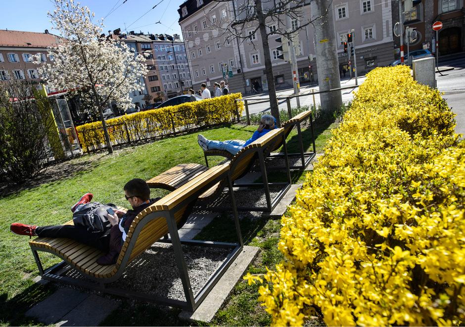 Frühling in Innsbruck.