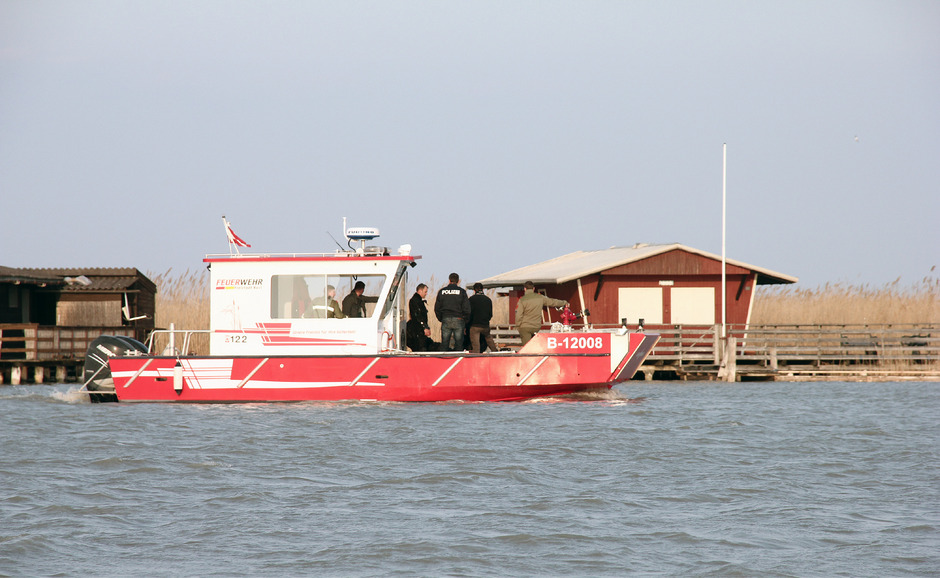 Die Polizei suchte tagelang den See ab.