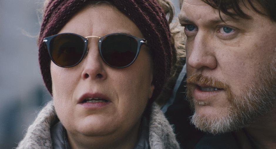 """Privat und in """"Zauberer"""" ein Paar: Tamara Metelka, blinde Evelyn, und Nicolas Ofczarek als Ulrich."""