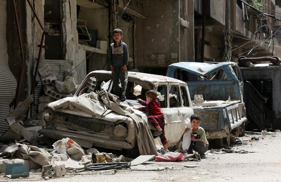 Aufnahme entstanden in Douma am 19. April 2018.