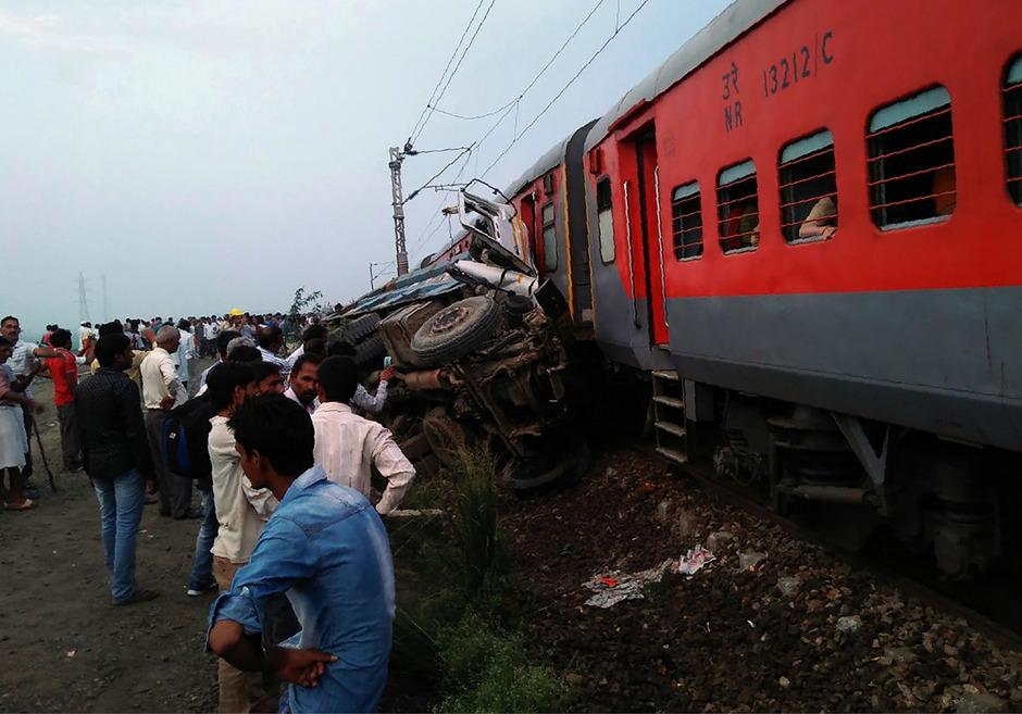 Immer wieder gibt es in Indien schwere Unfälle mit tödlichem Ausgang.