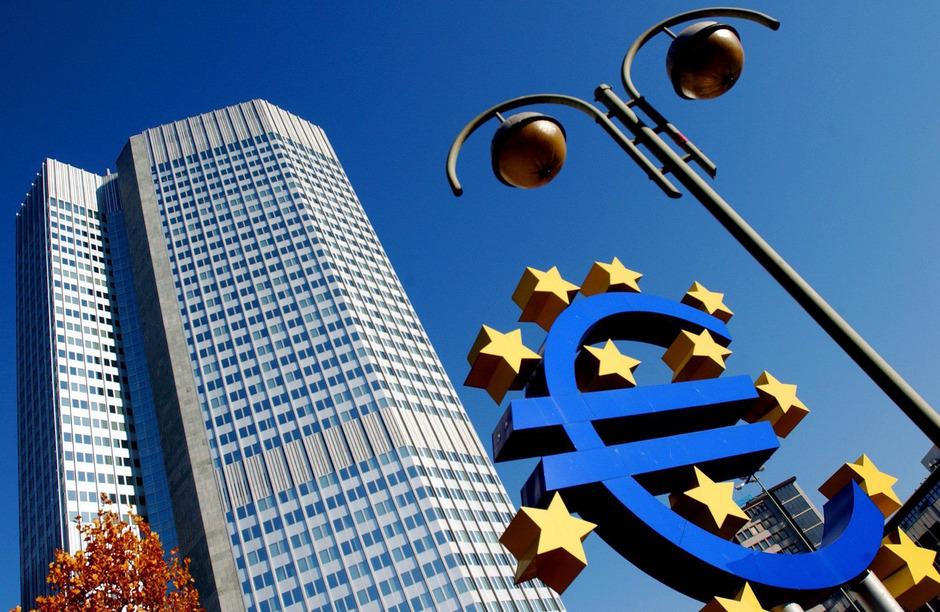 Die Europäische Zentralbank.