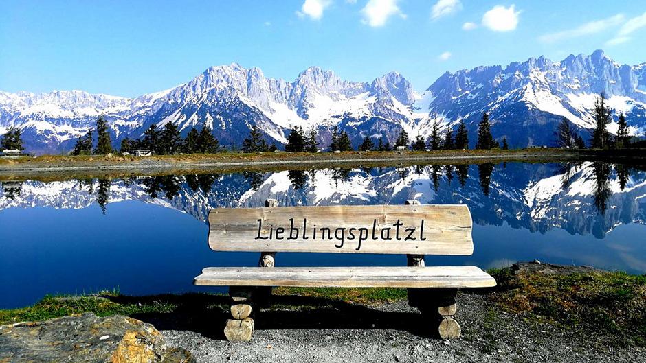 Obwohl Tirol keinen April-Rekord aufstellte, genossen viele die sommerlichen Tempeaturen in vollen Zügen. So auch TT-Leserin Christina Mairhofer am Astbergsee in Ellmau.