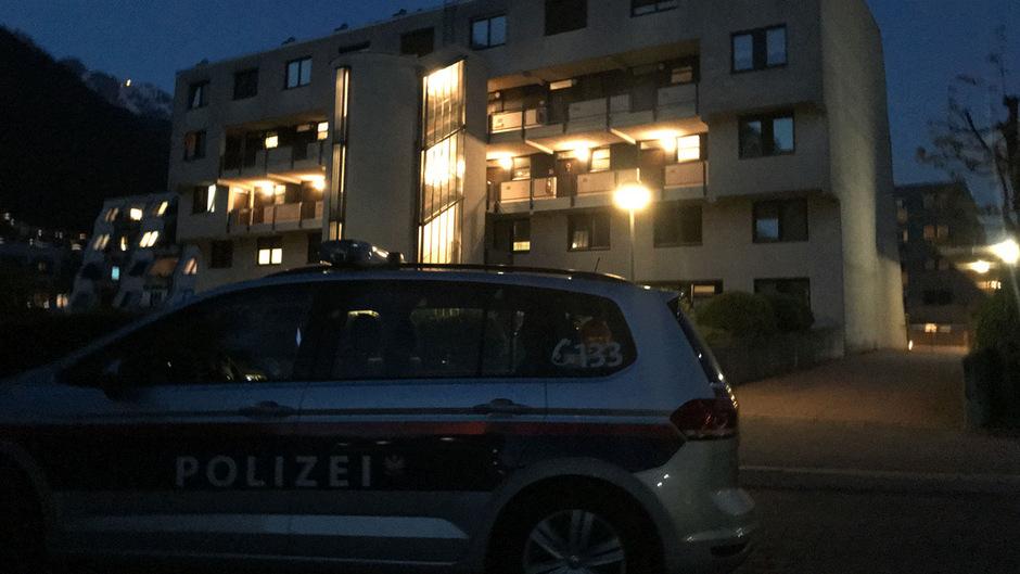 In der Nacht nahm eine Cobra-Einheit die Frau in Innsbruck-Kranebitten fest.