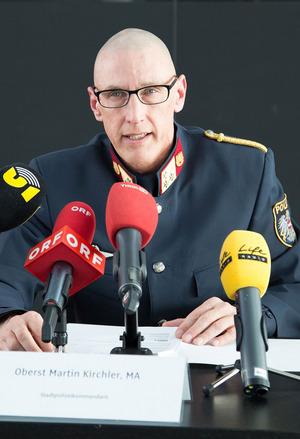 """""""Das Forum Rapoldipark ist sicher einzigartig, was die Dimension und das Ergebnis angeht"""", sagt Martin Kirchler (Stadtpolizeikommandant)."""