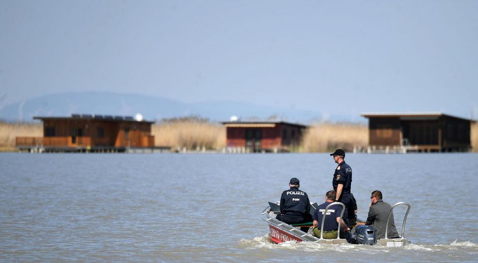 Die Leiche wurde in der Ruster Bucht am Neusiedler See gefunden.