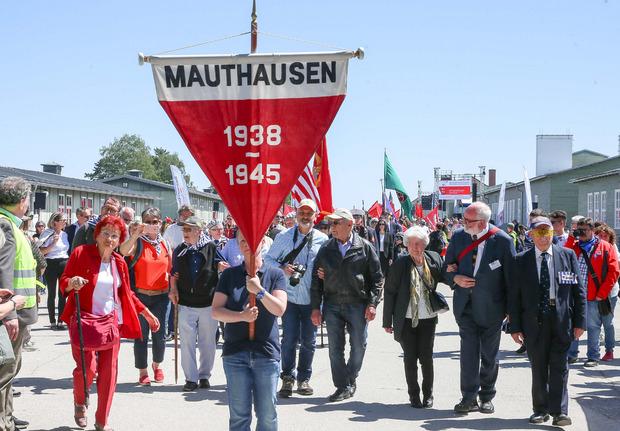 n der Gedenkstätte Mauthausen wird der Befreiung des Konzentrationslagers und seiner 49 Außenlager zu Kriegsende gedacht.