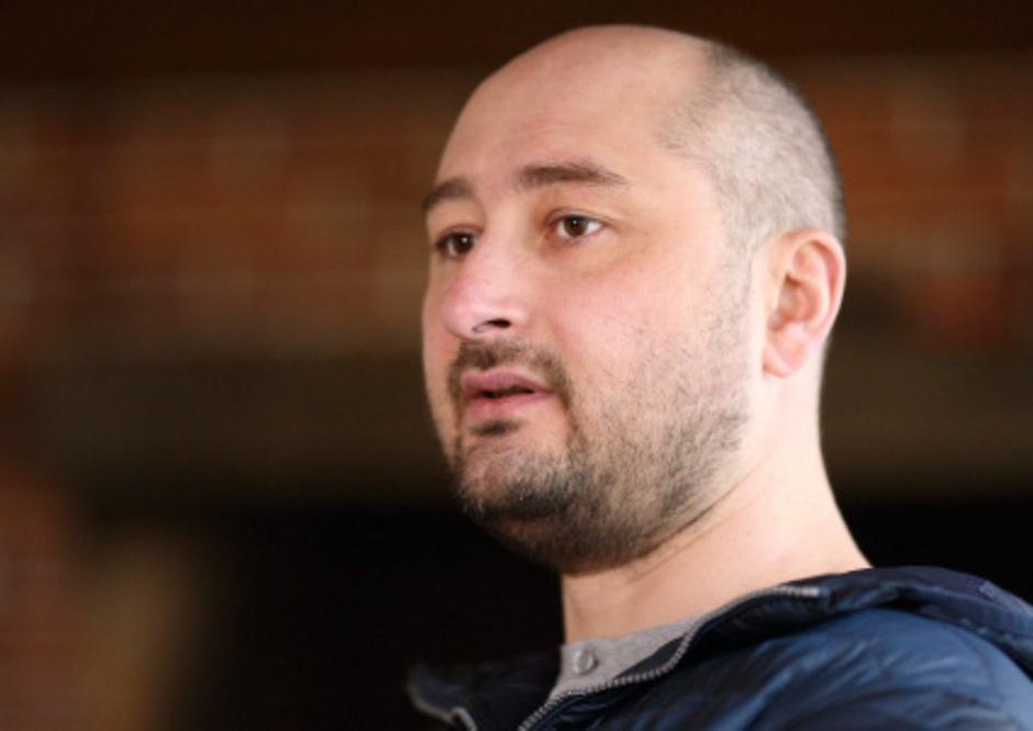 Arkadi Babtschenko wurde vermutlich wegen seiner journalistischen Arbeit getötet.