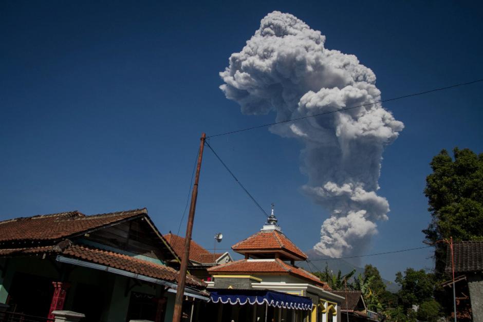 Der Merapi gilt als einer der gefährlichsten Vulkane der Welt.