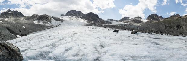 Am Jamtalgletscher werden die Jungforscher im Sommer reelle Messungen durchführen.