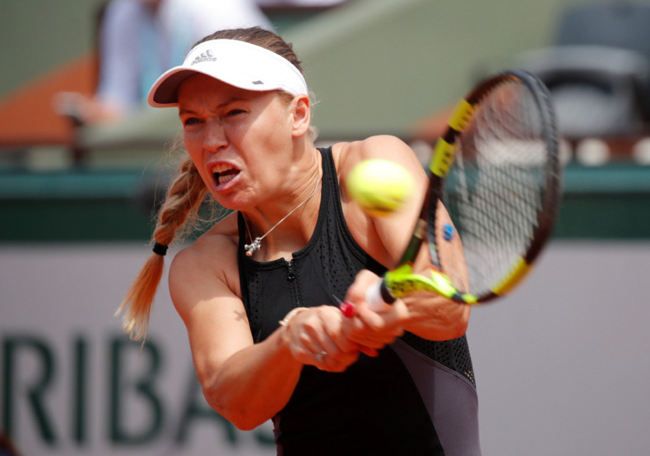 Endstation Achtelfinale für Caroline Wozniacki.