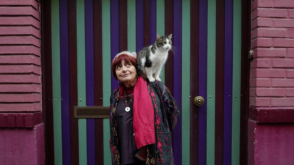 """Agnes Varda begibt sich in """"Visages, Villages"""" auf eine Reise quer durch Frankreich."""