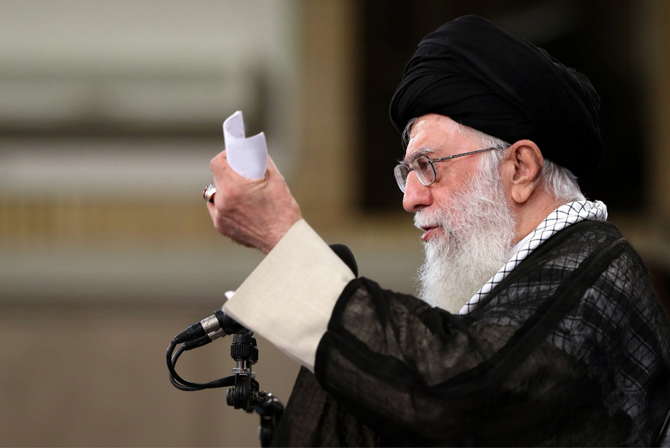 Irans oberster Führer Ali Khamenei.