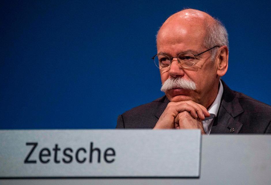 Daimler-Chef Dieter Zetsche.