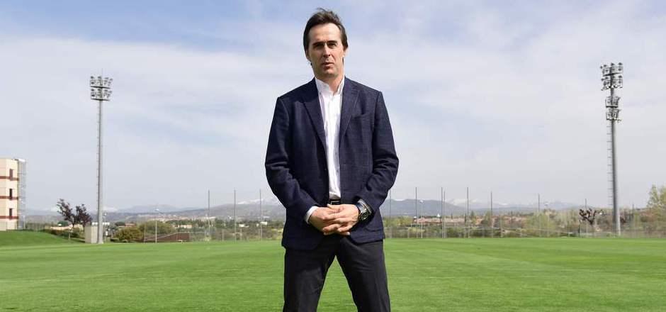 Julen Lopetegui trainiert künftig Real Madrid.