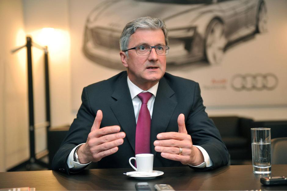 Audi-Chef Rupert Stadler.