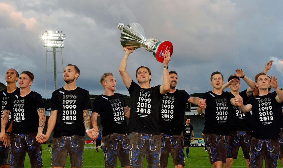 Cupsieger Sturm Graz muss in der CL-Quali einen harten Brocken aus dem Weg räumen.