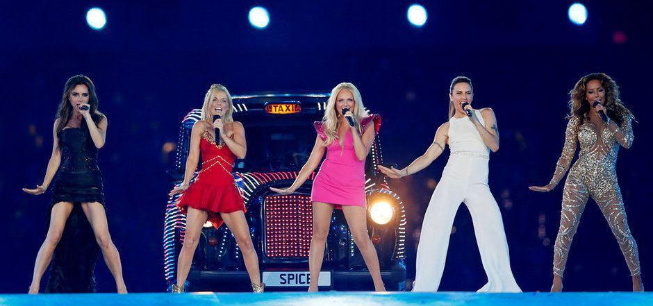 Bei der Abschiedszeremonie der Olympischen Spiele in London traten alle fünf Spice Girls zuletzt zusammen auf.