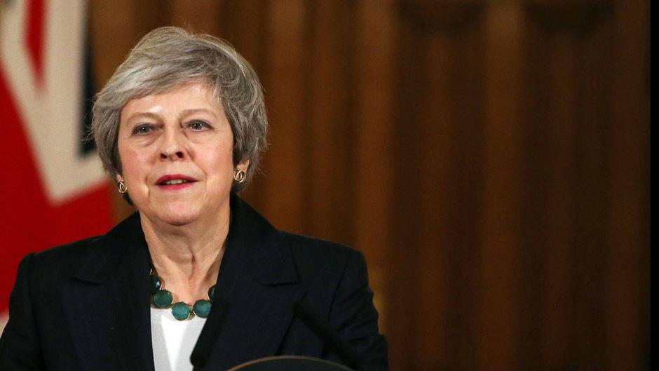 Schwelle für Misstrauensvotum gegen May noch nicht erreicht