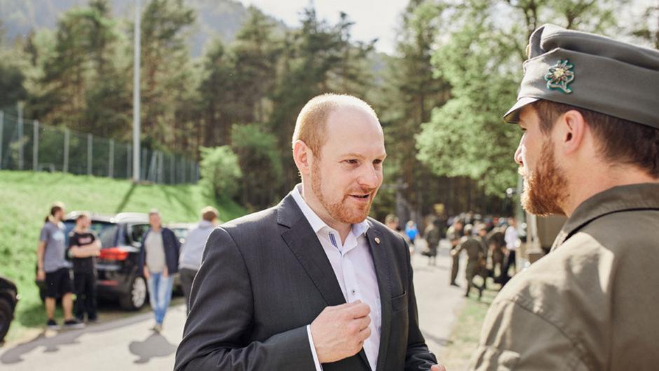 Dominik Schrott (Archivaufnahme).