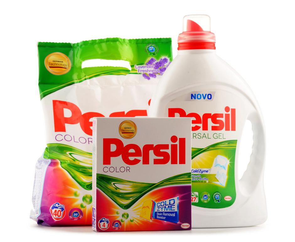 """Henkel erzeugt auch die Marke """"Persil""""."""