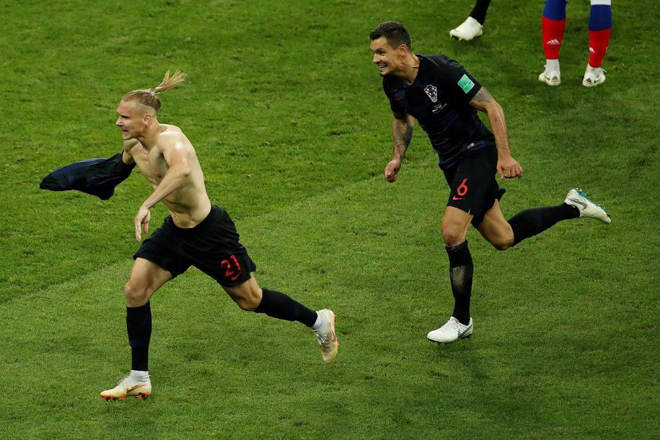 Vida brachte Kroatien in der Verlängerung in Führung.
